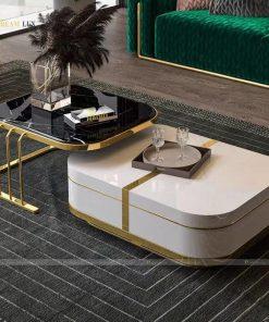 bàn trà phong cách hiện đại